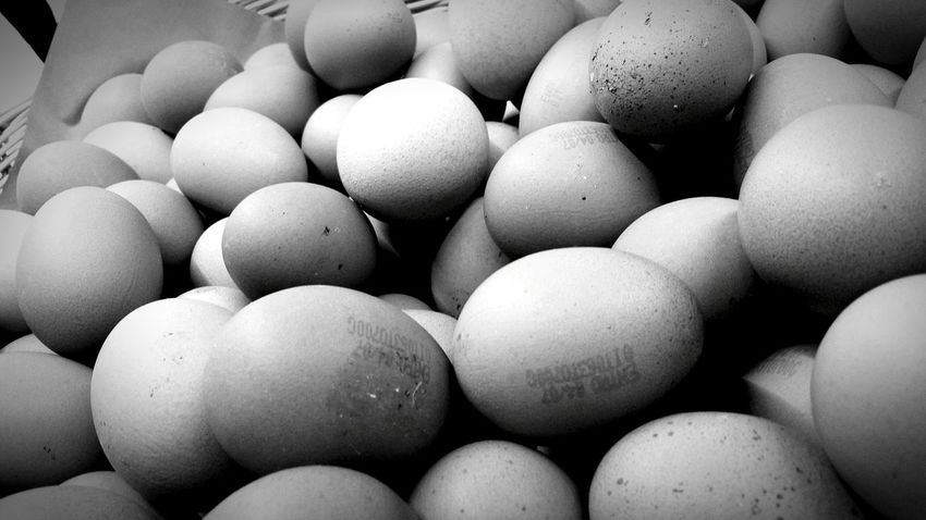 Eggs... Eggs Food Photography Blackandwhite Black And White Bw Photography Black And White Collection  Fragility Fragile Handle With Care Natural Organic Food