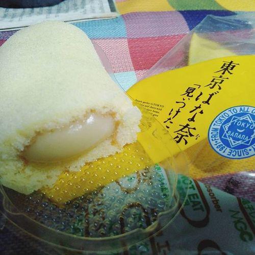 Tokyo banana 🍌 Tokyo Banana Food Dessert Japan Japansnack