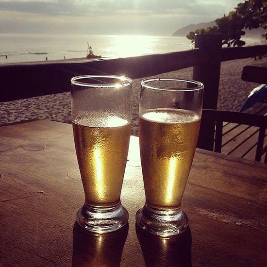 Stellaartois no fechamento do dia. Stellaartois on the day of closing. Honeymoon Withlove Summer Maresiasbeach Sun Lounge Beer