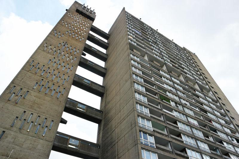 Balfron Tower Brutalism Brutalist Goldfinger