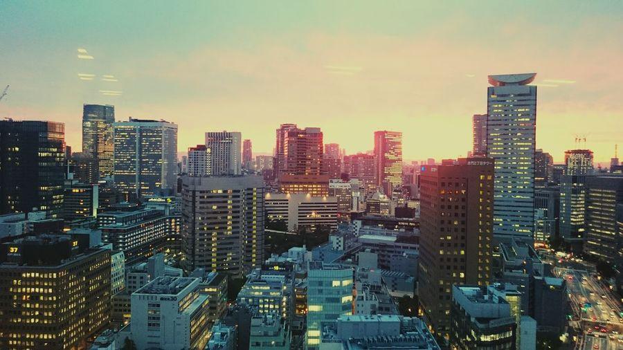 Enjoying The View Taking Photos Sunset Beautiful Aerial Shot