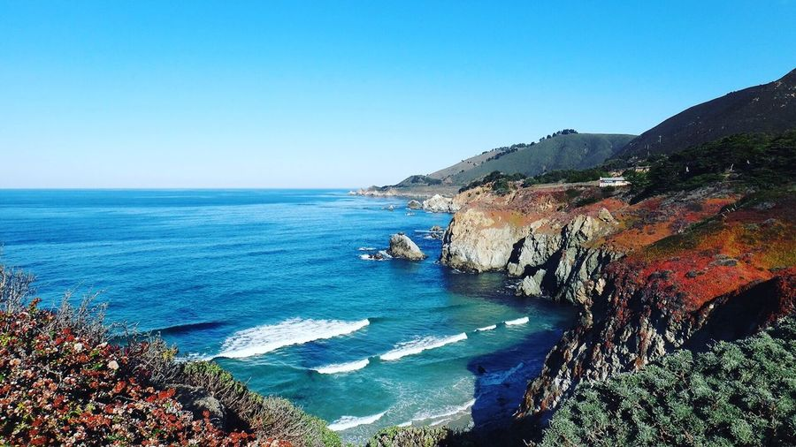 Big Sur CA🇺🇸 The Great Outdoors With Adobe Pacific Ocean Ocean View Ocean EyeEm Team Seascape Sea EyeEm