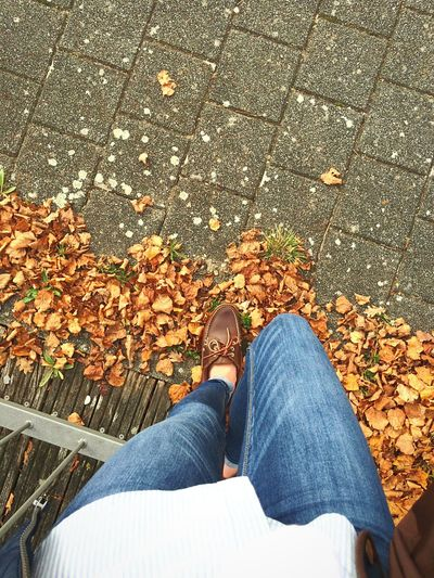The Changing City Fall Beautiful Taking Photos That's Me Legs Leaf City Shoes Well Turned Out Picturing Individuality My Student Life Fashion Stories