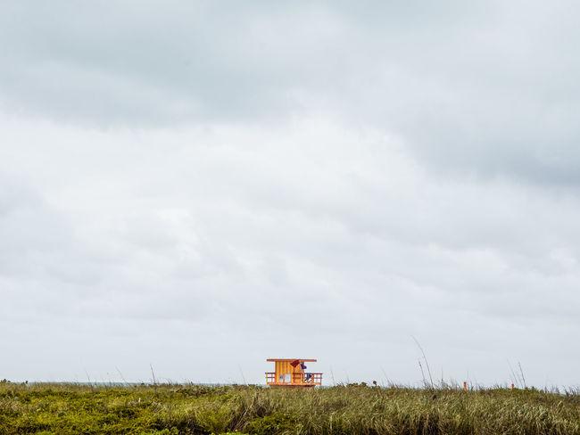 baywatch hut Sky Scenics - Nature Cloud - Sky Nature Day Outdoors Beach Lifeguard Hut Lifeguard  Florida Sand Nature