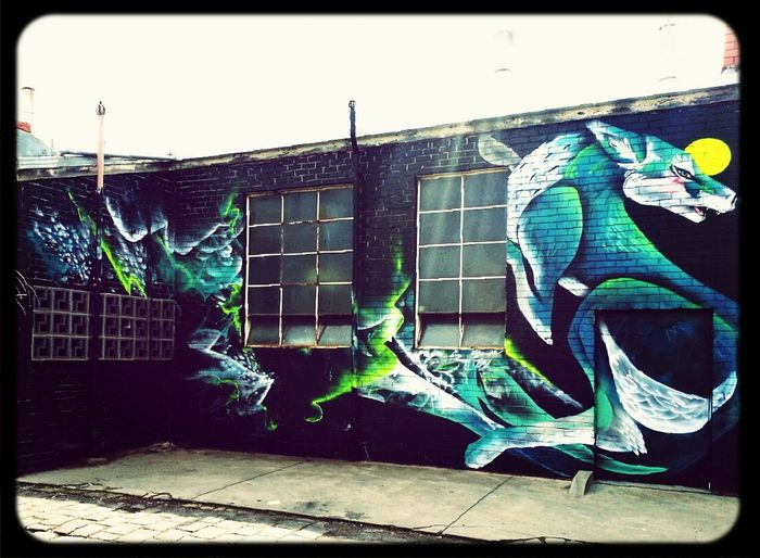 Two One Wolf Streetart Mural