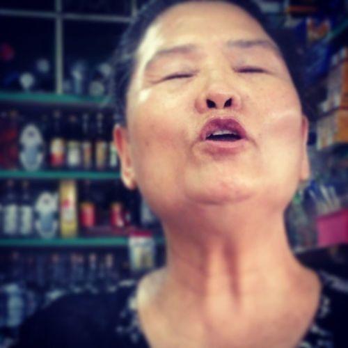 母語教學 必備嘴型 Grandma Mouth 金崙 Aboriginal girl