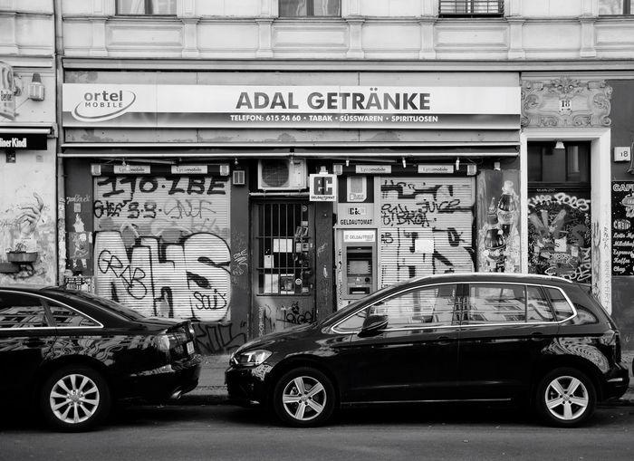 Späti Spätkauf Berliner Ansichten Berlin Blackandwhite Black & White