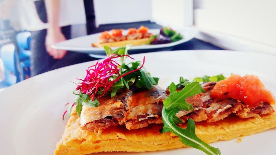 Foodporn Algarve, Portugal Inspiration_photography Photographic Memory Food Art Chefe Rules Sardinha