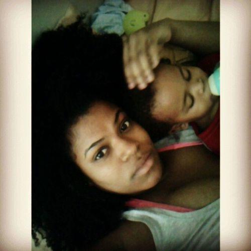 My side-kick is sick :( YoungCarter Ihatehimfeelingsick Mommylovesyou Cuddle