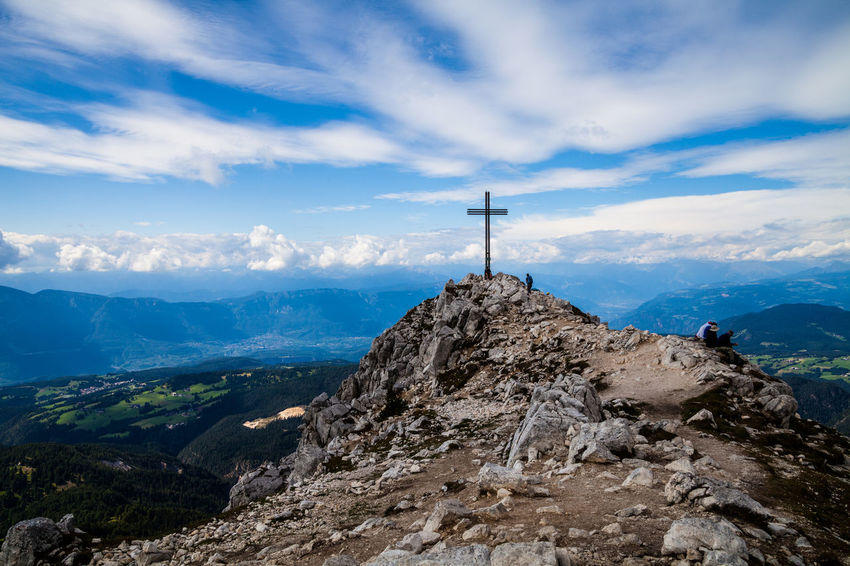 Corno Bianco EyeEm Best Shots EyeEm Nature Lover EyeEm Selects Weisshorn Beauty In Nature Belief Cloud - Sky Croce Day Landscape Marco Vittorio Marco Vittorio Photography Mountain Mountain Peak Mountain Range Nature Outdoors Religion Rock Scenics - Nature Sky Tranquility