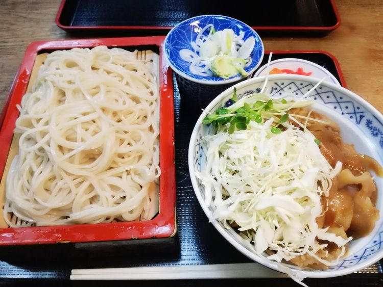 Japanese Food Japanese Culture Soba Food Food And Drink Indoors  Ready-to-eat Healthy Eating Freshness No People Chopsticks Close-up