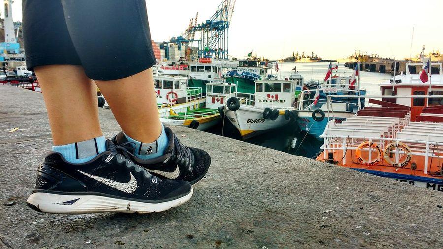 Puerto Querido ValParaiso De Mi Amor... Chile Outdoors City Running Challenge Happiness Beautiful Enjoying Life Urban Lifestyle