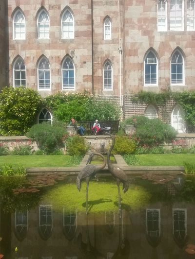Building Exterior Architecture Reflection Window Scenery Nature Lover National Trust 🇬🇧 Beauty SculpturesNational Trust Outdoor Pictures Pretty Places Summer Garden