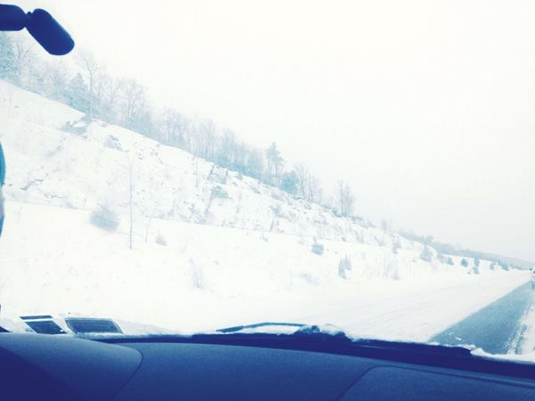 Traveling Cold Winter ❄⛄ Driving