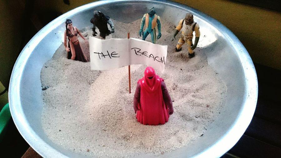 Thebeach Starwars Greedo Imperialguard Leiaorgana Bossk Sylt Sand Beach Party