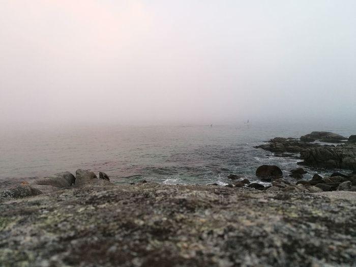 Water Fog Sea