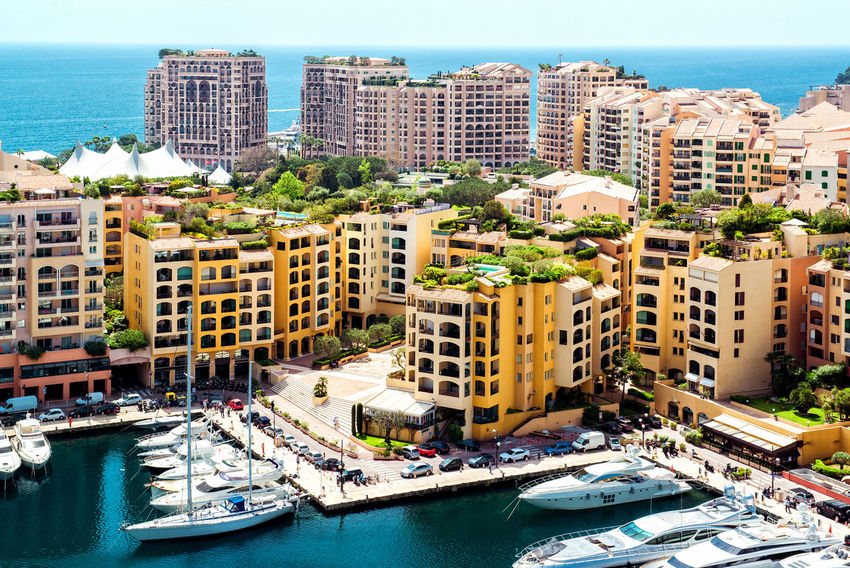 View of Fontvieille, Monaco Architecture City Cityscape Harbor Marina Mediterranean  Monaco Monaco City 😍 Summertime Architecture Building Exterior Built Structure Europe Fontvieille Nautical Vessel Outdoors Port Principality Of Monaco Sea Summer Sunny Day Tourism Tourist Resort Travel Destinations Water
