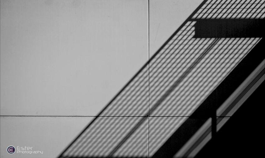 Light And Shadow Urban Geometry Minimalism Black And White