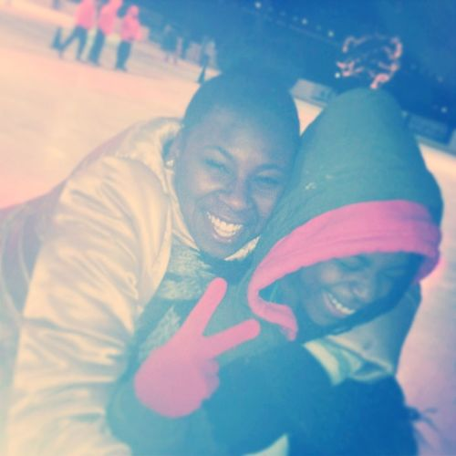 Mha Sis (&) @bxtchswervee__ Ice Skatin The Otha Daii Had So Much Funn
