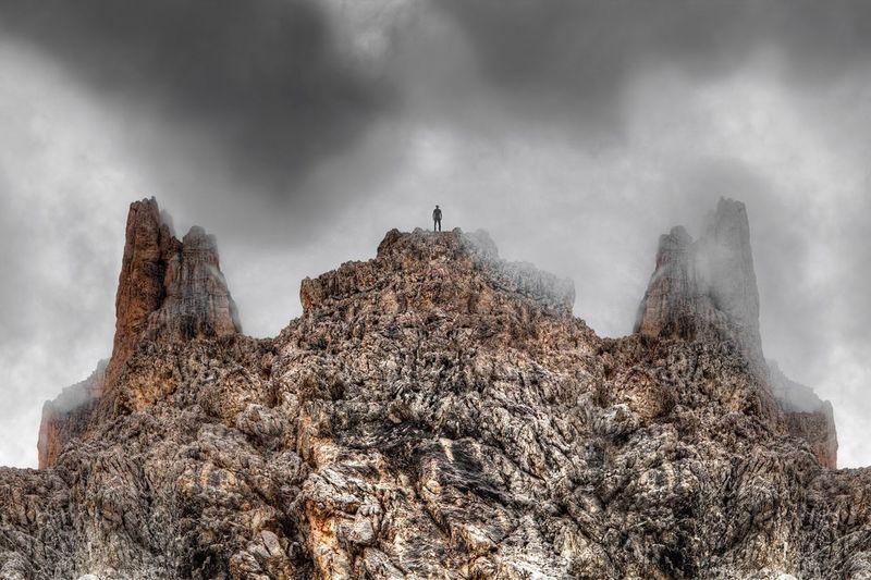 Landscape Dolomites, Italy Perspe
