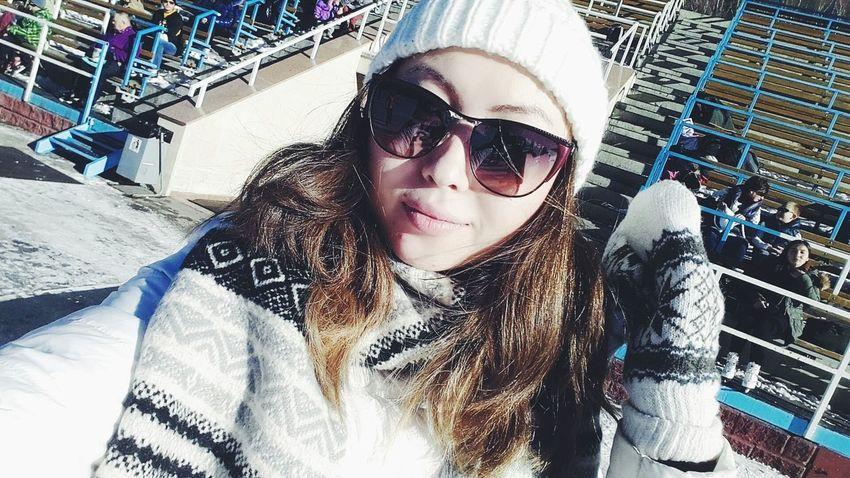 That's Me Hello World Taking Photos Enjoying Life Model Relaxing Hi! Self Portrait Winter instagram : Aitkhozhina_alua ☺ ?