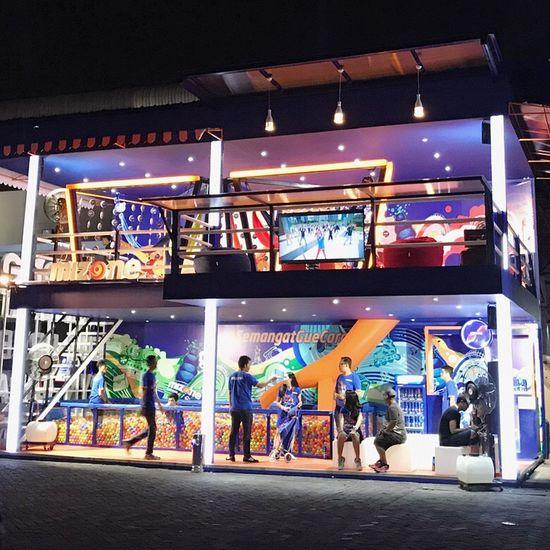 Mizone booth DanceMusicFestival16 Djakarta Warehouse Project 2016 By ITag DanceMusicFestival By ITag Djakarta Warehouse Project By ITag