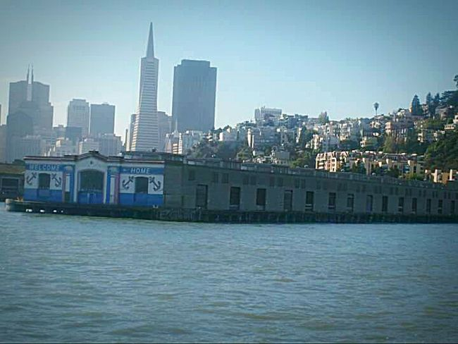 Sight Seeing Ferry Views Ferry Ride Water San Francisco Bay My Point Of View Tourist Attraction  This Week On Eyeem Taking Photos My Photography San Francisco Architecture