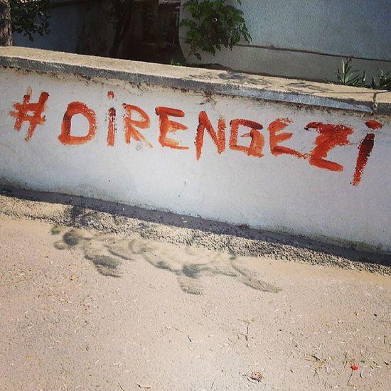 Diren Gezipark ı Direngezi Fighting turkey heryertaksimheryerdirenis heryertaksim basbakan duranadam budahabaslangicmucadeleyedevam sivil wall graffiti direnturkiye