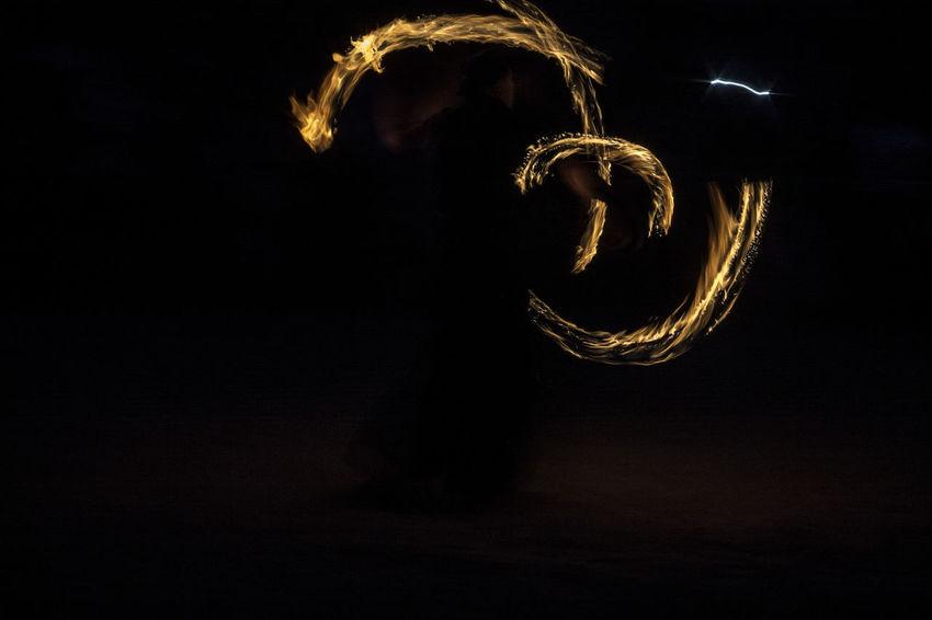 Belarus Black Background Castle Close-up Fire Illuminated Lida Lifestyles Light Night Show