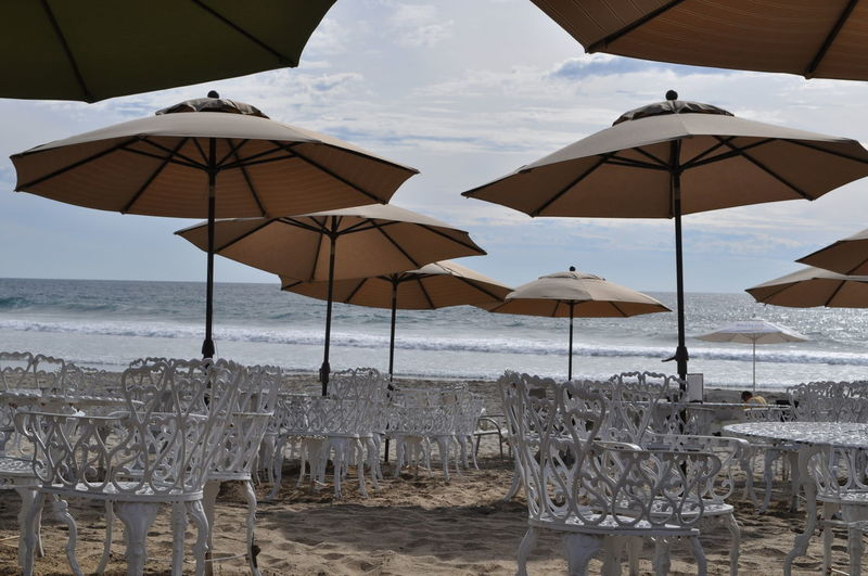 Cloudy day on the beach Beach Beach Umbrella Beauty In Nature Canopy Day Horizon Over Water Nature No People Outdoors Protection Sand Scenics Sea Shelter Shore Sky Summer Sun Lounger Sunlight Thatched Roof Tranquility Vacations Water Investing In Quality Of Life Breathing Space The Week On EyeEm