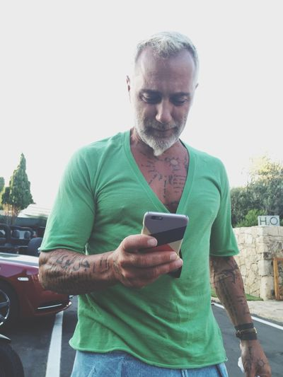 The GREAT Gianluca Vacchi with an envied case Gianlucavacchi Gvlifestyle GV Porto Cervo, Sardinia Envied Enviedcases Cover Sardegna Bomber Style Person Rollsroyce H2o AMG House Villa