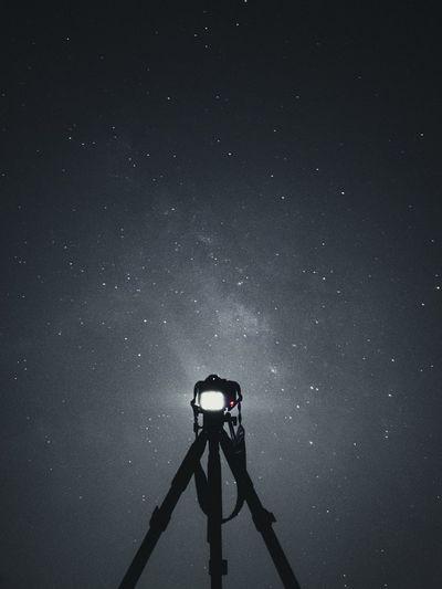 Night lapse of the galaxy