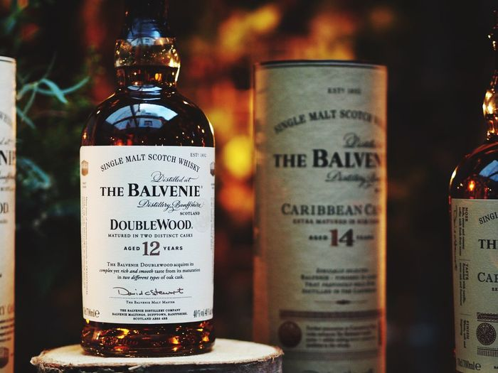 Balvenie Whisky launch Bottle Whisky Singlemalt Spirits Scotch