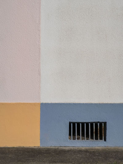 Colorful wall of house