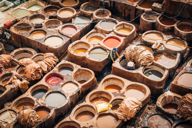 Colors Leather Leather Craft Market Moroco Tannery The Week Of Eyeem The Week On EyeEm