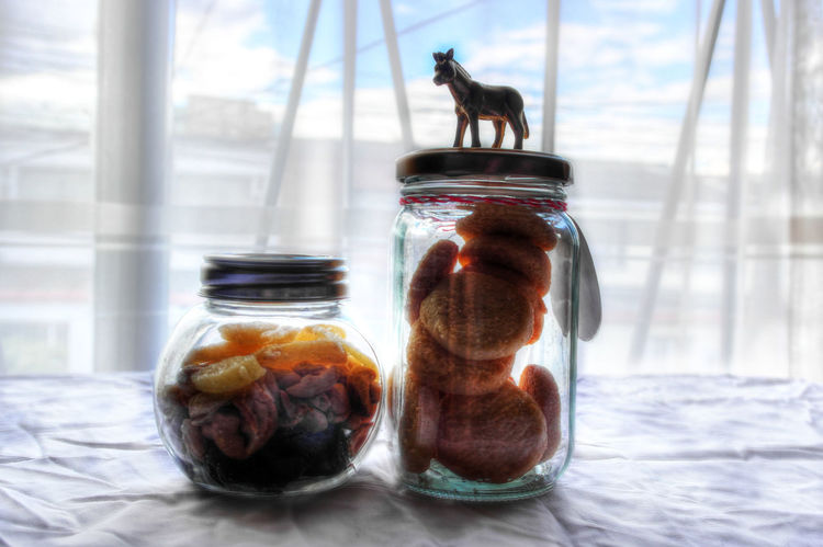 Animal Themes Biscuits <3 COOKIES! Day Domestic Cat Glass - Material Homemade Sweets Indoors  Jar Mammal No People One Animal Pets
