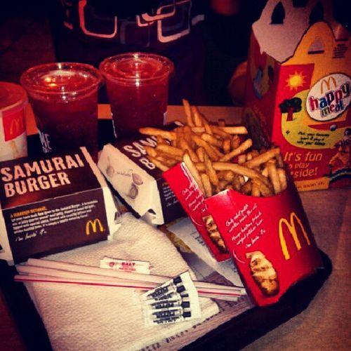 boleh tahan gak rasa samurai burger ni..