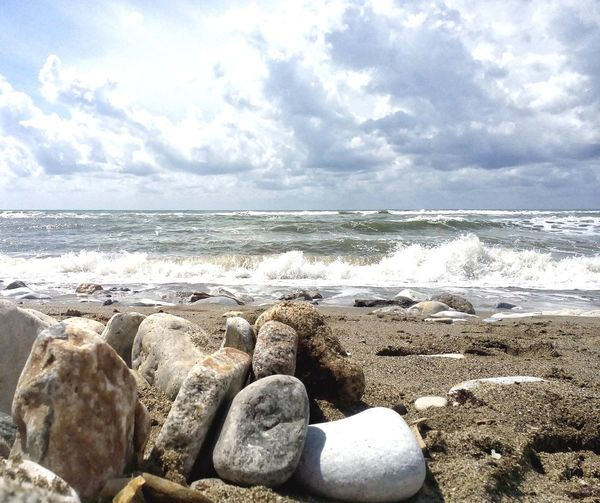 Deceptively Simple Sea Italy Sand