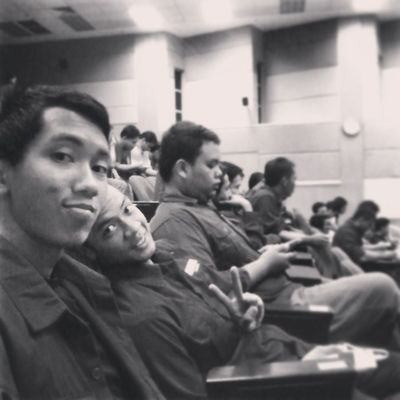 today at dewan teater Ikmlumut with joe and the folks :3