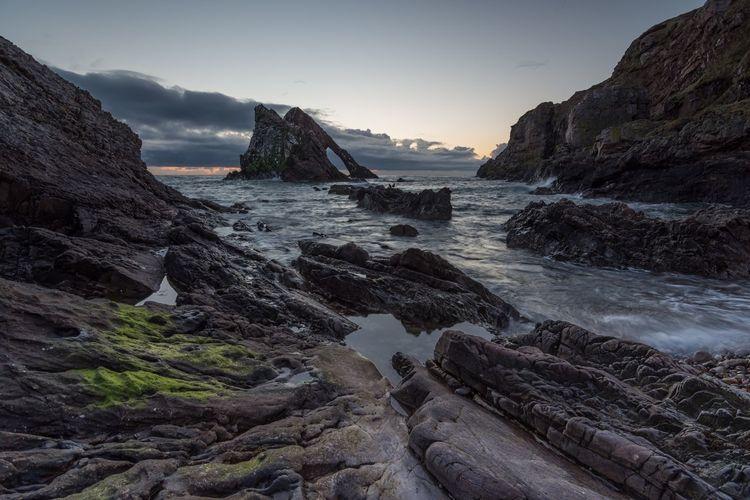 Coastal sunrise, Portknockie Nikon D7200 Scotland Seascape Landscape Sunrise Sunrise_sunsets_aroundworld Nature Nikon Morayshire Leefilters Beach Tokina 11-16 Mm F/2,8 Countryside