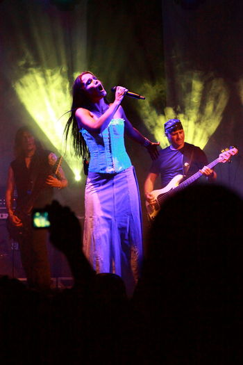 Concert Concert Photography Indoors  Music Music Photography  Night People Singer  Tarja Tarja Turunen