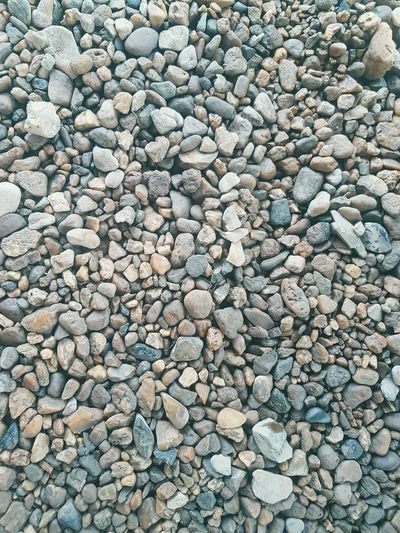 Pebble Beach Large Group Of Objects Day Nature Pattern No People Outdoors