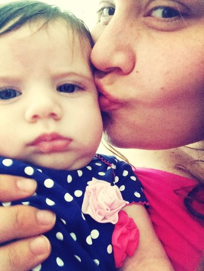 Kissies!!! My Baby Girl <3 Hanging Out