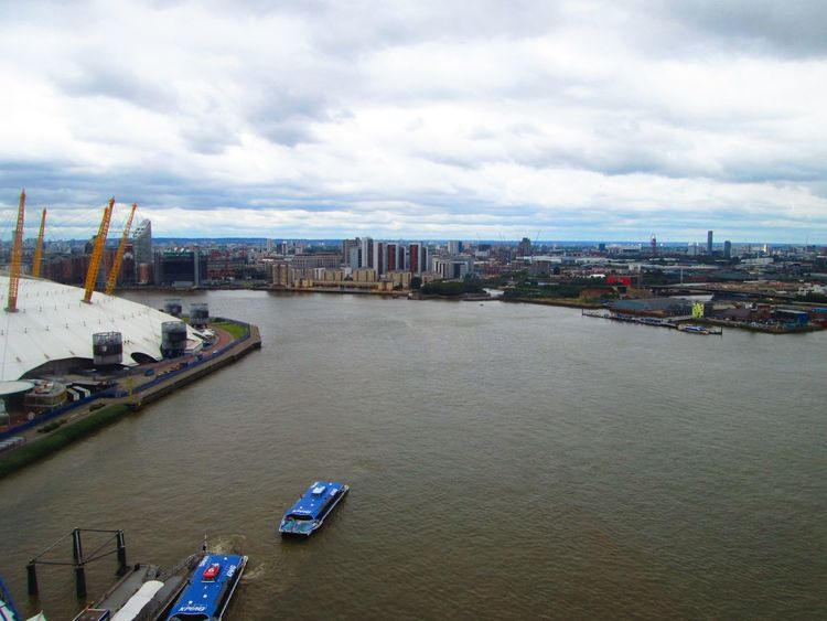 Architecture City Cloud - Sky Day No People Outdoors River Rivers Sky Thames Thames River The Thames Water