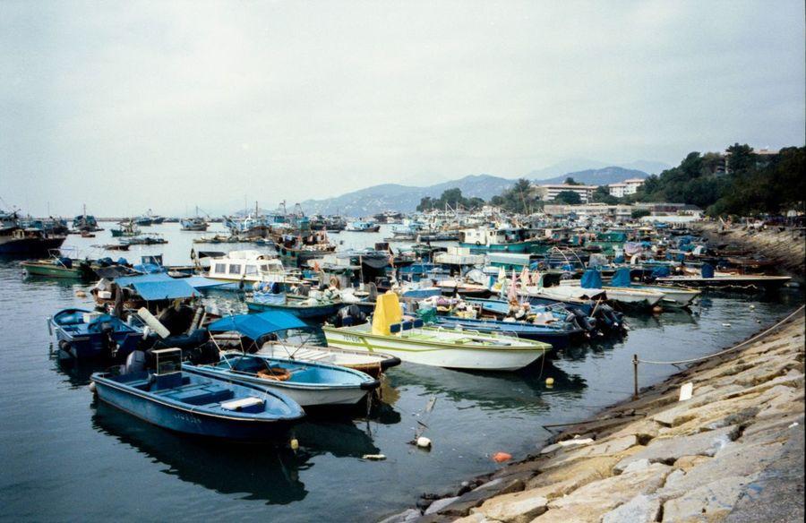 Hong Kong Cheung Chau Island Film Photography Film Kodak Portra Leica Mp Boats Docks Travel Photography