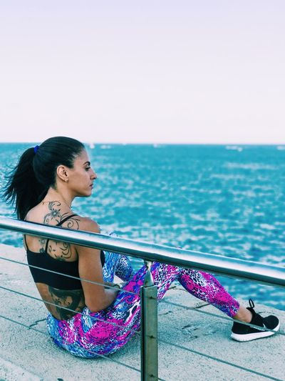 Fitness Lifstyle Barcelona Girl Power Girls With Tattoos Summertime Ukrainian Girl Braziliangirl Fit Fitgirl Fitness Fitness Model Fitness Training Fitnesslifestyle  Fitnessmodel Fitnessmotivation Girl Girls Girlswithpiercings Leggings Sea Sea And Sky Sky Sport Summer Training