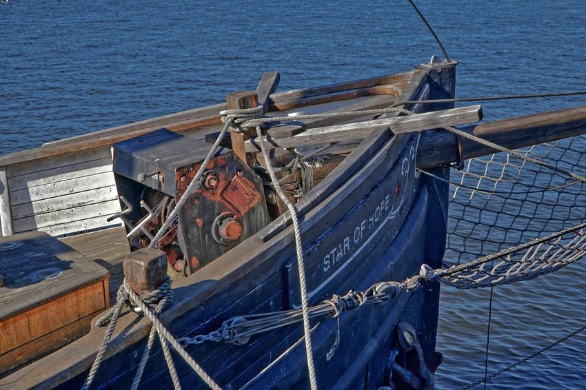 Have had better days too HDR Also In 16 Bit Blue Fishing Fishing Boat Fishing Industry Nautical Vessel Rope Sea Ship