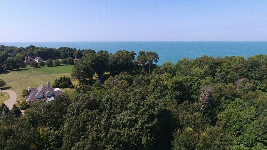 Overlooking Lake Erie beautiful summer Day 2017 aerial Drone footage No People Tree Day Outdoors Nature Sky Beauty In Nature