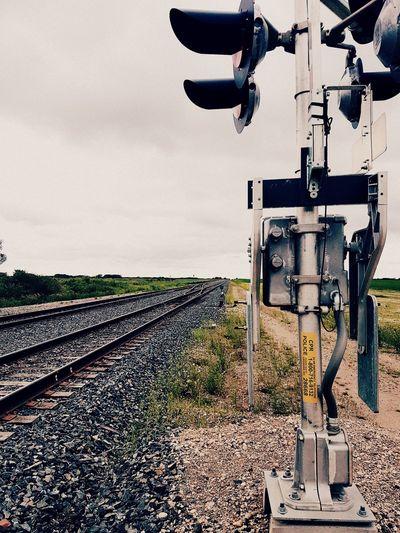 Hometown Pride Railway Track Outdoors Beauty In Nature Views Saskatchewan Gottaloveit