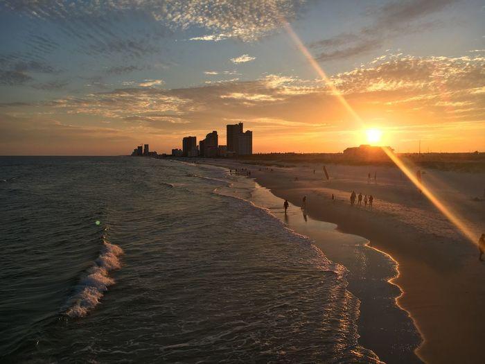 Beach Nature Condominium Sunset